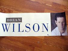 BRIAN WILSON Promo poster 12x36