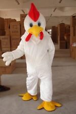 New Year Of Rooster Chicken Chook Cock Hen Mascot adult Costume 4 Colours