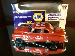 Red Byron #22 Oversaes Motors 1949 Oldsmobile Napa Auto Parts Promo 1:24 Action