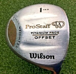 Wilson ProStaff Ti Face Offset Driver 12*  RH Ladies Graphite / New Grip /mm6024