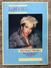 LIMAHL - TOO MUCH TROUBLE 1984 Full page UK magazine ad KAJAGOOGOO