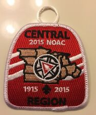 NOAC 2015 Central Region   Pocket patch Mint Limited Edition