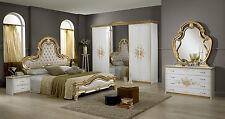 luxurious italian 6 piece bedroom set