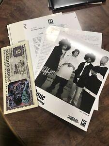 1997 Bone Thugs-n-Harmony Rap Ruthless Records Hip Hop Music Press Kit w/Folder