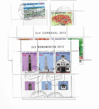 2012 USED Sint Maarten year collection (6 scans)