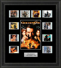 James Bond Goldeneye Framed Film Cell Memorabilia 007