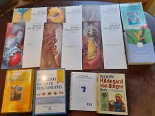 Konvolut Buchpaket  Gesundheit von Bingen Anatomie Bachblüten Lebensmittel (r85)
