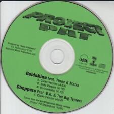 Project Pat: Goldshine & Choppers PROMO MUSIC AUDIO CD Three 6 Mafia Big Tymers