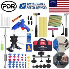 85pcs Us Paintless Dent Repair Puller Lifter T Bar Hammer Pdr Tools Line Board