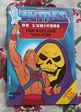 1984 Maitres de l'univers N°2 Rien n'est joué Skeletor eurédif  BD jeunesse
