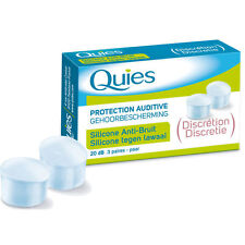QUIES silicone hearing protection Noise 3 pairs