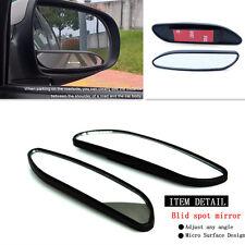 2 pcs Auto Voiture Côté réglable Vue Arrière Auxiliaire tache aveugle Angle large miroir