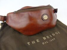 THE BRIDGE *current model*  brown leather bumbag money belt