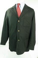 $1495 Luciano Barbera Wool Orylag (Rabbit) Cashgora Men Overcoat Car Jacket 40R