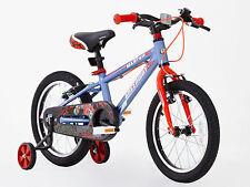 Greenway garçons 16 pouces alliage vélo avec support de roue, hi spec, 3-6 ans