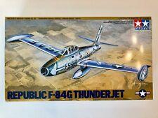 Vintage Tamiya Republic F-84g Thunderjet Scale 1 48 #61060