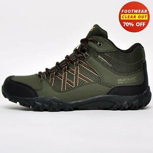 CLEAROUT SALE Regatta Edgepoint Mid Waterproof Mens Hiking Walking Outdoor Boots
