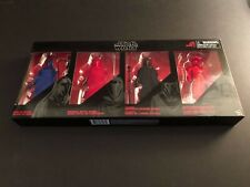 Star Wars Black Series Imperial Guard Exclusive 4 Pack
