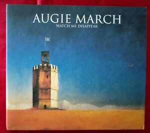 Augie March - Watch Me Disappear CD 11 track 2008 album digipak good used