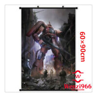 Decorate Decor Poster Wall Anime GUNDAM Cosplay Scroll Home Gift 60*90CM #X52