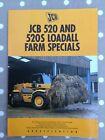 JCB 520 loadall brochure