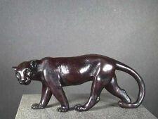 Black Panther Sculpture / Tiger / Lion Cast Bone Resin