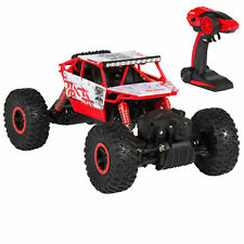Toy 2.4Ghz Remote Control Rock Crawler 4WD RC Monster Truck W/ UL Charger