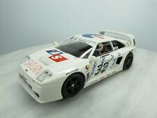 Venturi 600 Lm Slot Car Fly 1/32 - #32 Saturn Antena 3 - White - Spain - Used