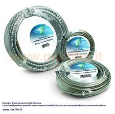 Fune (funi - corda) acciaio inox misure varie in rotoli da 10 e 100 mt.
