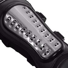 Acero Protección Rodilla Codo Shin Pads Armadura Guardia Motocross Moto Ski Gear