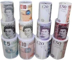 £5 £10 £20 £50 Pound Note Design Kids Money Box Tin Saving Cash Piggy Bank Box N