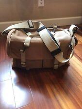 (Nice) Domke F-7 Double AF Canvas Shoulder Bag (Sand) :Largest-size Domke Canvas