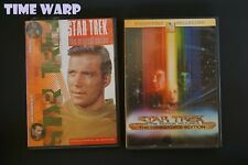 STAR TREK THE MOTION PICTURE DIRECTOR'S EDITION & VOLUME 10 EPISODES 19 & 20