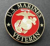 US MARINE CORPS VETERAN USMC MARINES LAPEL PIN BADGE 1.5 INCHES