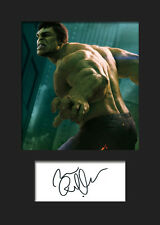 MARK RUFFALO (HULK) #2 A5 Signed Mounted Photo Print - FREE DELIVERY