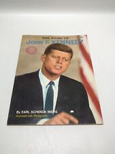 The Story Of John F Kennedy By Earl Schenck Miers, Paperback