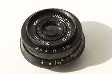 INDUSTAR 50-2  3.5/50 mm USSR Russian lens M42