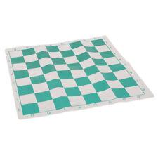 Green Chess Roll-Up Staunton  Folding Chessboard Travel Game Board  Jian