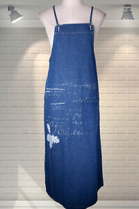 Gorgeous Denim Vintage Style Pinafore Overall Dress ALLY CAPELLINO Hearts of Oak