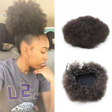 Vgte Beauty Synthetic Curly Hair Ponytail African American Short Afro Kinky Wrap