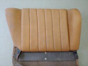 USED ORIGINAL GENUINE PORSCHE 911 912 912E 930 RIGHT REAR SEAT BACK TAN 27
