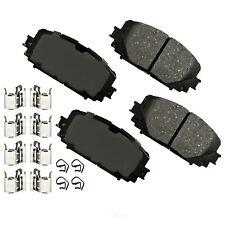 Disc Brake Pad Set-Rear Disc Front Akebono ACT1628 fits 2012 Toyota Yaris