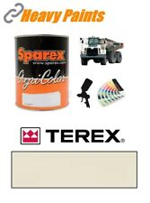 Terex Dump Truck Off White Paint High Endurance Enamel Paint 1 Litre Tin