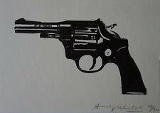 Fine POP ART Revolver LTD. Silkscreen edition Warhol signed & stamped & numbered