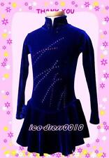 2018 new style Figure Skating Competition custom Ice Skating Dress K003-3 size S