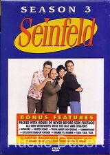 Seinfeld, Volume 2, Season 3 (DVD 2004) Jerry Seinfeld (new, unopened)