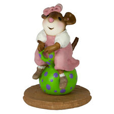 BOUNCY BALL by Wee Forest Folk, WFF# M-314d, LTD Mouse for Christmas 2016