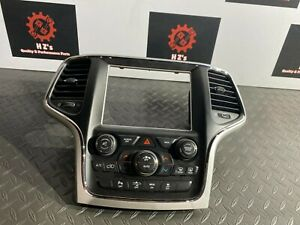 JEEP GRAND CHEROKEE SRT 2014-2018 OEM RADIO SWITCH AIR A/C CLIMATE CONTROL 60K