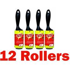 12 x Lint rouleaux Scotchbrite Collant Collant Rouleaux Jumbo Taille Nouveau Fluff Bits