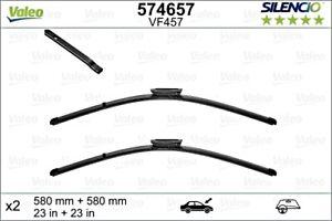 "VALEO Silencio Wiper Blade PAIR 580mm 23"" Fits SAAB 9-5 Sedan Wagon 12781786"